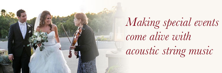 Making special events come alive with acoustic string music